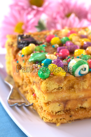 peruvian cake called turron