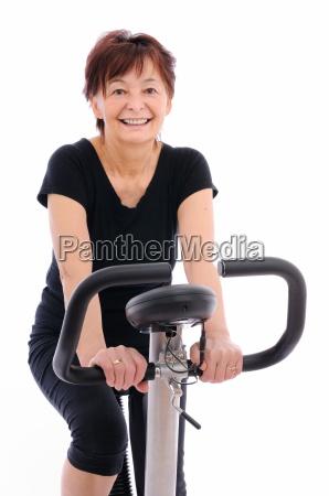 donna sport dello sport esercizio fare
