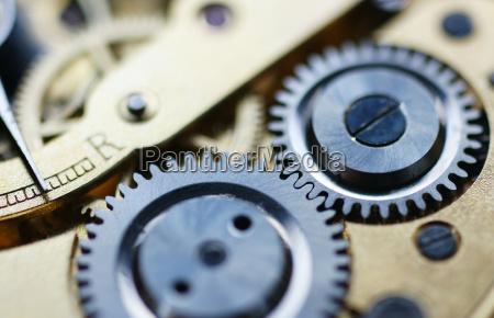 clockwork macro watch mechanism