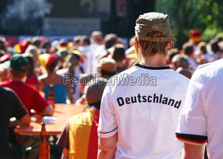 public viewing german fans