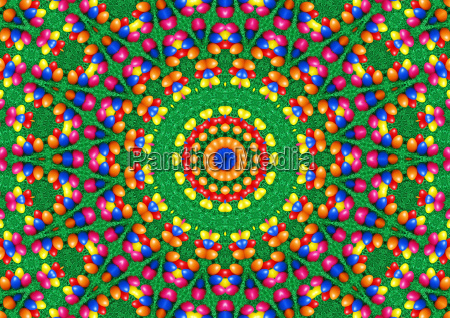 easter powercolor mandala