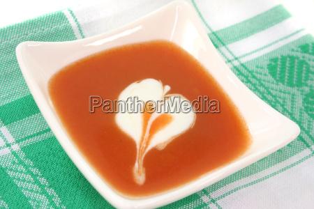 plate cream tomatoes tomatos tomato soup