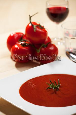 tomato soup and tomato
