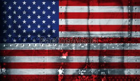grunge bandiera americana