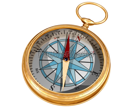 isolated compass