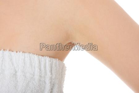 womans armpit