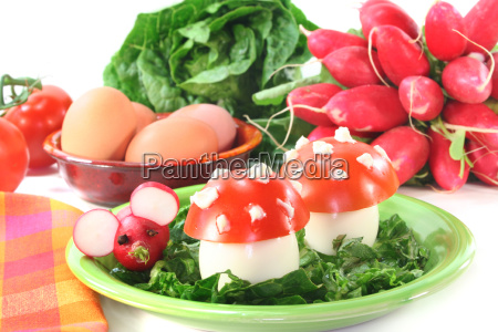 vegetarian cold plate