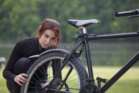 mountain bike trouble