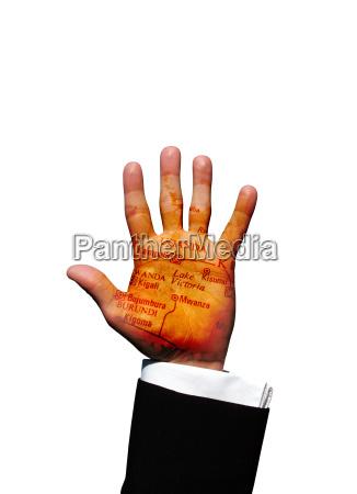 uganda hand