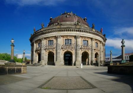 bodemuseum on museum island in berlin