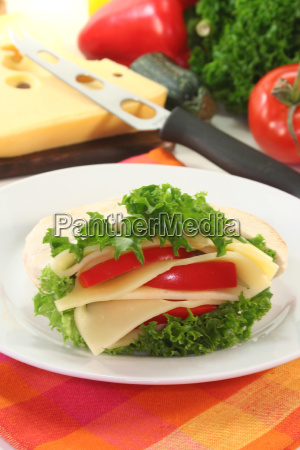 pita with cheese