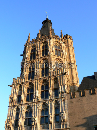 cologne town hall tower