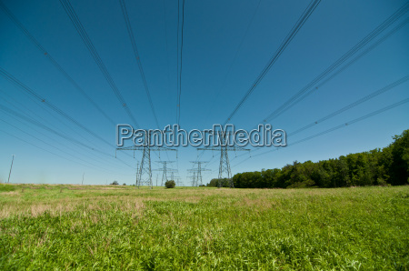 electrical transmission towers electricity pylons