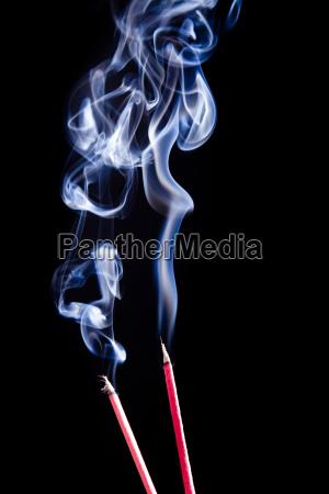 smoke meditation incense