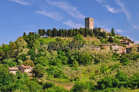 montecatini in tuscany near volterra