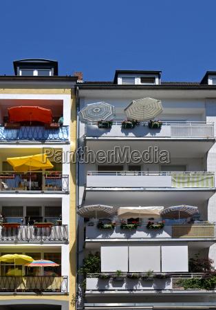 holiday on balcony