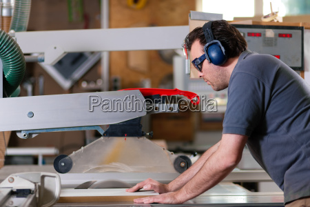 carpenters during sawing
