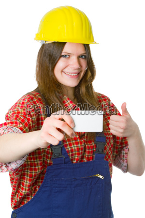 craftswoman presents business
