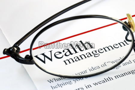 focus on wealth management and money