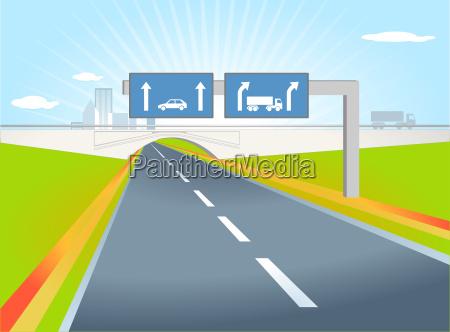 trucks direction