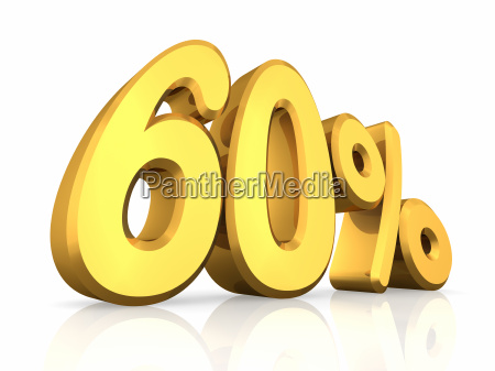 gold sixty percent