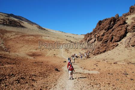 hiking paradise tenerife