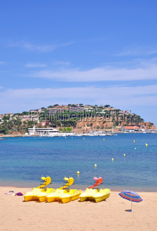 san feliu on the costa brava