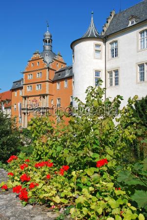 in bad mergentheim at the deutschordenschloss