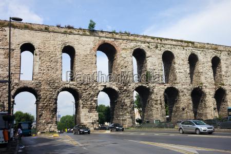 valens aqueduct in istanbul