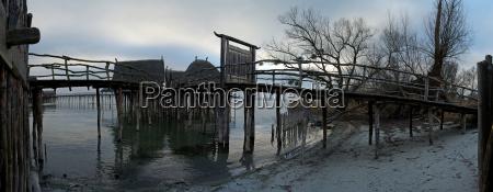 world heritage site stilt buildings