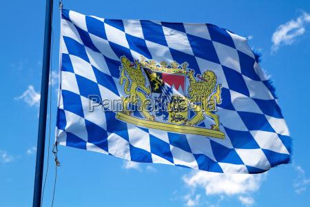 waving, bavaria, flag - 5126033