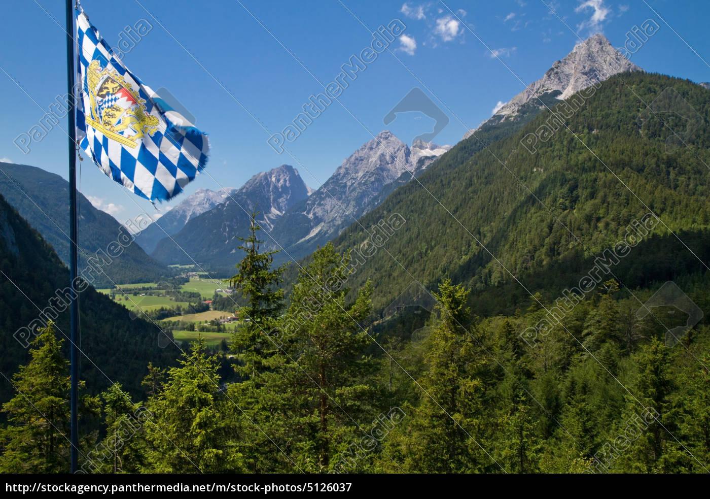 waving, bavaria, flag - 5126037
