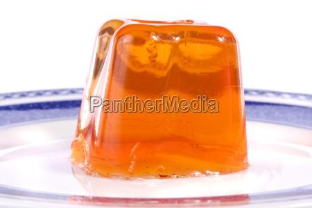 orange gelatin