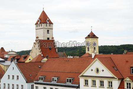 regensburg towers