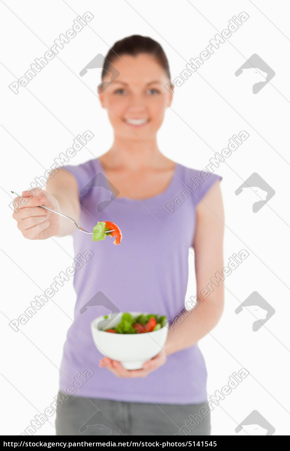 good, looking, woman, holding, a, bowl - 5141545