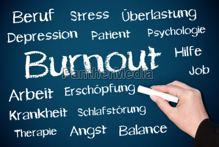 burnout chalkboard blue