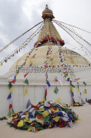 the great stupa of boudha kathmandu