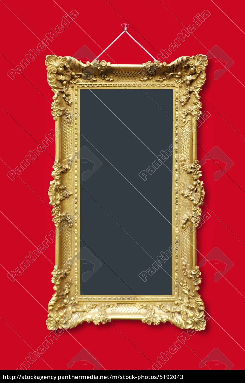 picture, frames, in, gold, with, ornaments - 5192043