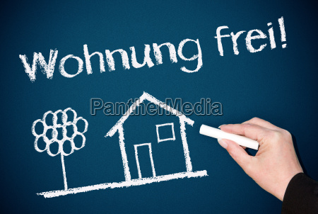 apartment free real estate concept
