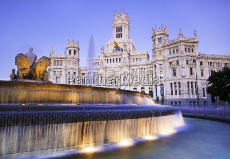 plaza de cibeles madrid spain
