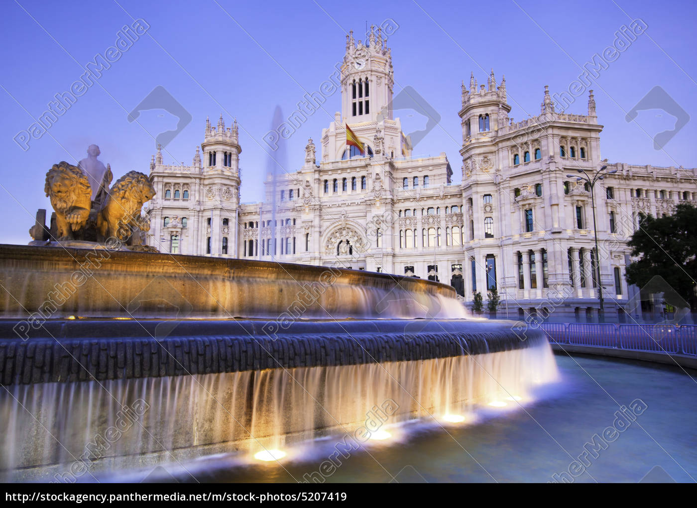 plaza, de, cibeles, , madrid, , spain. - 5207419