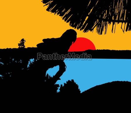 holiday vacation holidays vacations illustration south