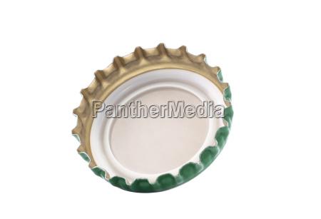 bottle cap isolated on white