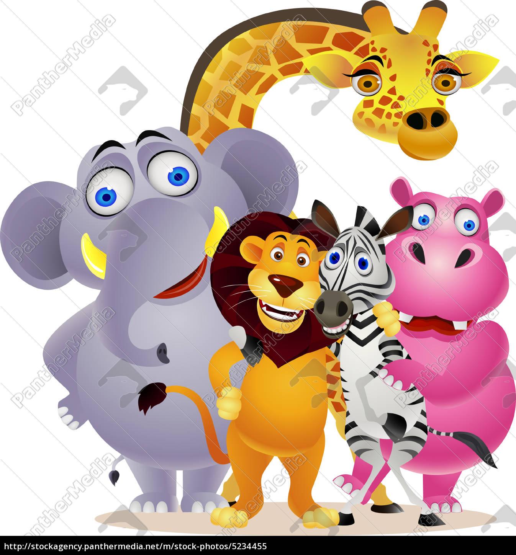 Animal Cartoon Stock Photo 5234455 Panthermedia Stock Agency