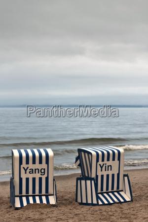 beach basket yin amp yang