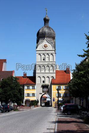 erding beautiful tower