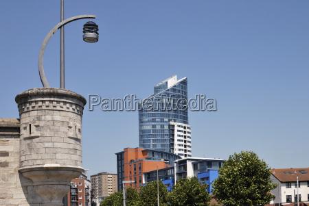 apartment buildings at gunwharf quays portsmouth