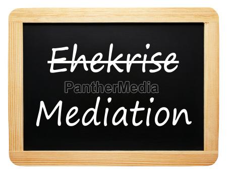 marital crisis and mediation