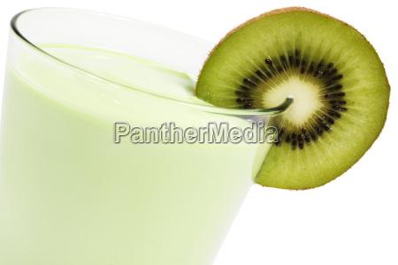 kiwi milkshake diagonally