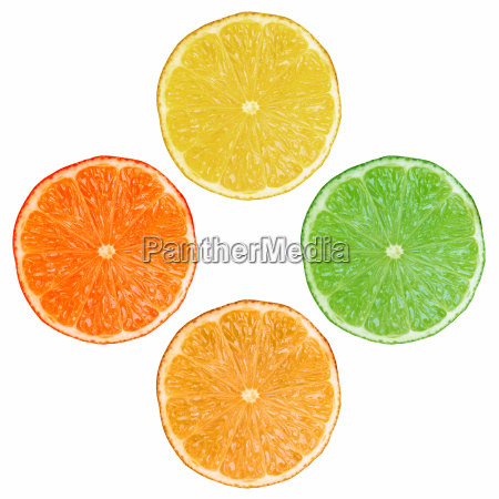 fruit slices